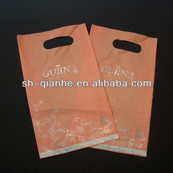 Strong plastic HD PE packaging bag