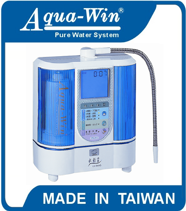 [ Model LV-9000 ] Alkaline Water Ionizer For Home Usage