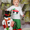 2017 Baby Boys Christmas Outfits Appliqued