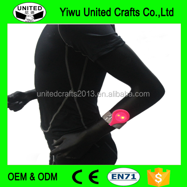 Flexible Reflective Magnetic Clips On Clothing LED Magnet Light Clip