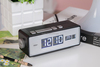 Electric Flip Alarm Clock With Phone Charger From Dongguan Manufacturer