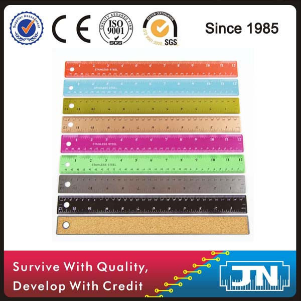 Colorful school student officer stainless steel ruler
