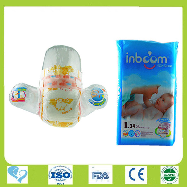 Profession design competitive price baby diaper in guangzhou