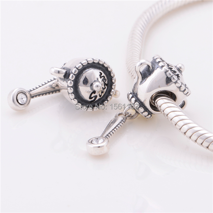 Fashion 925 Sterling Sugar Pendant Charms Whole Small Fit Pandora Charm Bracelets S125