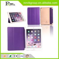 foldable stand case smart wover with auto sleep wake feature for iPad 6
