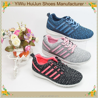 YiWu New style high quality fashion womens running shoes sport shoes and sneakers tenis