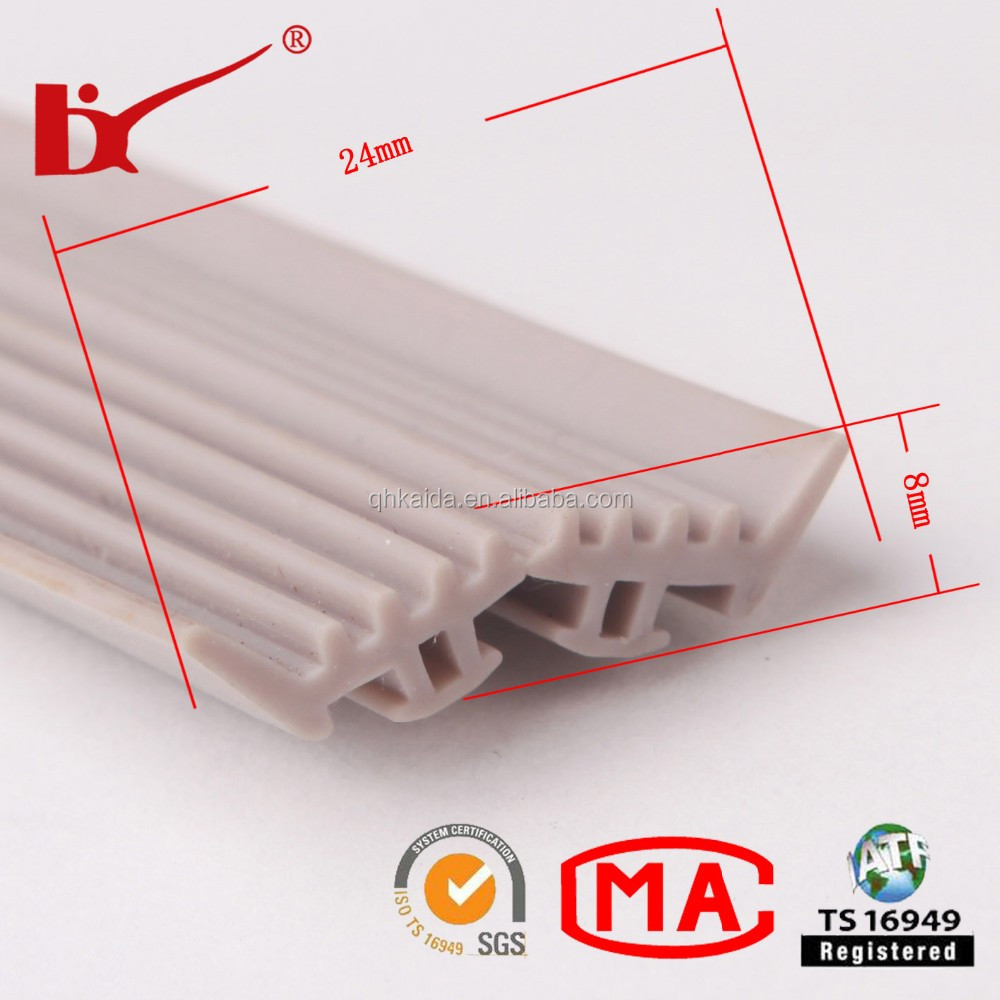 Silicone Rubber Seals refrigerator door rubber seal strip