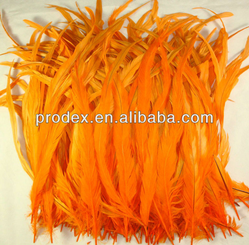 Color Long saddle hackle feathers Coque Tails Feather