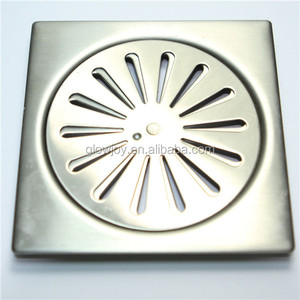 shower floor drain cover, stainless steel 6 floor drain covers