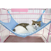 FREE SHIPPING Summer Choice Under Chair Breathable Air Mesh Pet Cage Hammock Cat Bed Hammock S size
