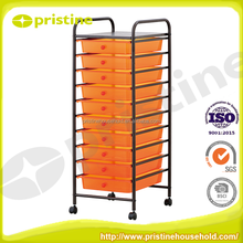 Trolley Cart colorful steel storage cabinet