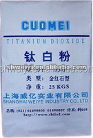 Factory supply Rutile Titanium Dioxide Tio2 Manufacturer with the lowest price (made in china)