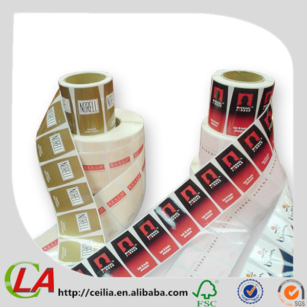 Biodegradable Vinyl Soft Drink Bottle Labels