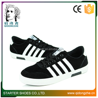 School style flat black casual teenage boys school shoes