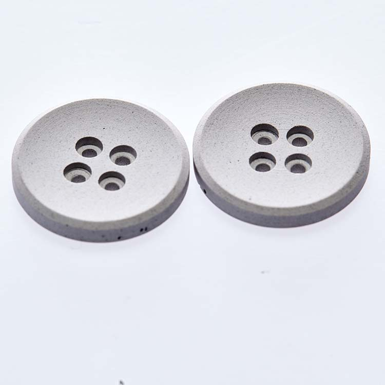 Iron jeans button hollow buttons four holes