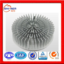 foreign advanced equipment customed-made industrial aluminium profile for radiator