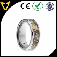 Titanium Real Tree Camo Wedding Rings Camouflage Gear Durable Hunters Rings,Camo wedding bands,Jewelry Fashion Rings