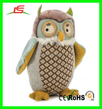 New plush birds soft toy baby and kid's custom cute mini stuffed owl