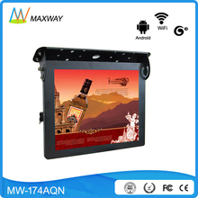 17 inch 3g wifi network lcd bus wireless ad player Shenzhen