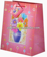exqusite pink ribbon tie gift bags