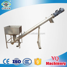 YongQing inclined&horizontal&vertical screw conveyor system with auger feeder used for constinuous transporting