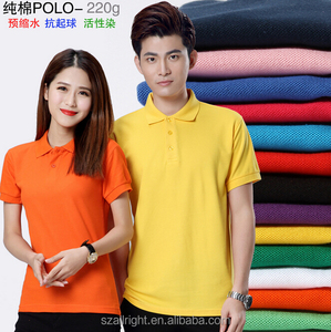 Factory wholesale cheap polo shirts 2016 custom made embroidery men polo t-shirt custom logo promotion t shirt polo