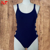 Sexy deep V hard cup swim suit india sex photos new models one piece bikini