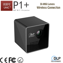 UNIC 2017 wholesale P1+ wireless connection dlp projector