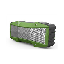 waterproof Army Green Ultra bluetooth speaker with 10W FM radio