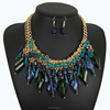 New Design Crystal Jewelry Set,2016 Hot Sale Necklace For Women,China Jewelry Factory(SWTAA2122)