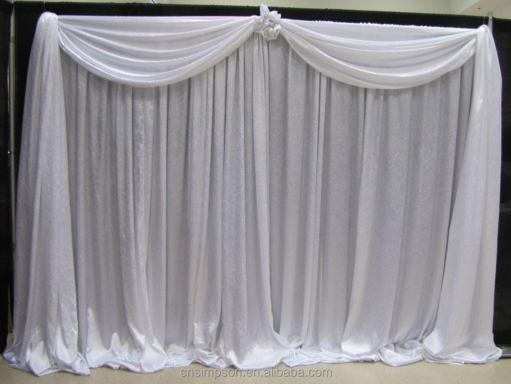 backdrop pipe and drape kits for wedding