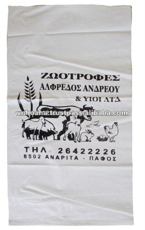animal feed sack