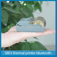 Portable bluetooth Thermal Printer,point of sale receipt printer with RS232 Serial/USB