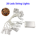 Hot Selling 2017 Amazon Waterproof Outdoor 3M 20LED String Lights