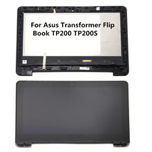 11.6 inch LCD Screen Monitor M116NWR4 Touch Digitizer with Frame Assembly for Asus TP200 TP200S