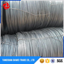 China supplier best quality mild hot rolled black steel wire rod 500mpa