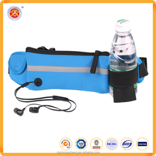 Dongguan factory Hot sale outdoor elastic waterproof waist bag promotional sports running belt