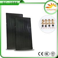Flat Plate Solar Water Heating Copper