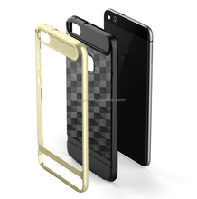 Shenzhen Mobile Accessories Market New Design 2in1 TPU PC Bumper Mobile Phone Case For Huawei P10 Lite