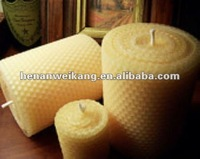 Purified Propolis beeswax candle