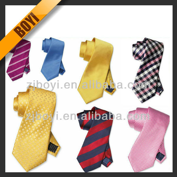 Bright Colorful Jacquard Silk Tie All Kinds Of Neckwear