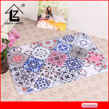 polyester comfortable custom 3d door mat