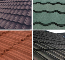 Sand coated aluminum zinc roof tiles prices color roof philippines