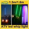 1.5M/1.8M car led safety antenna flag pole lights for ATV