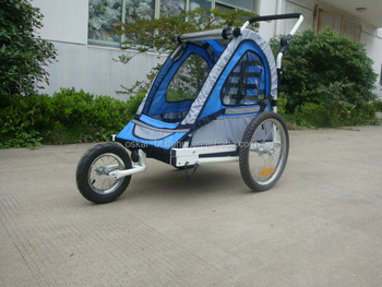 Cute bicycle trailer for kids