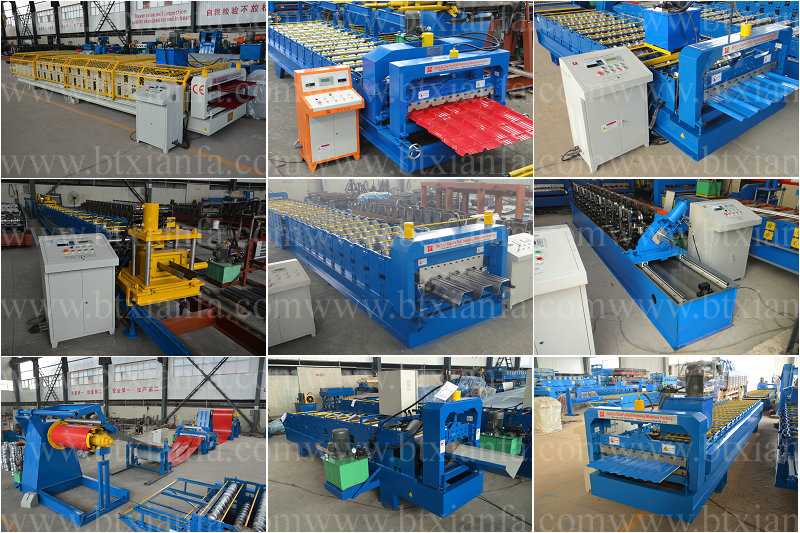 High Class Roof/Wall Panel Roll Forming Machine