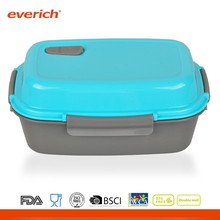 Everich customized well designed PP lunch box food container BPA free