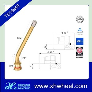 27 Degree Angle V3.20.06 115ms Wheel Valves Truck Van Bus Tubeless Tyre Valve