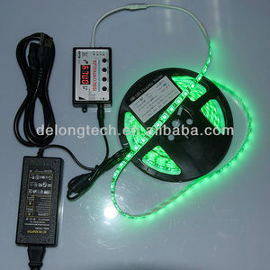 CE RoHS high brightness smd 5050 RGB music changing led strip light