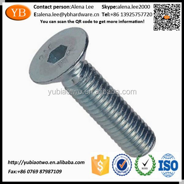 Fine Thread Metric Socket Head Cap Screws ISO/TS16949 Passed